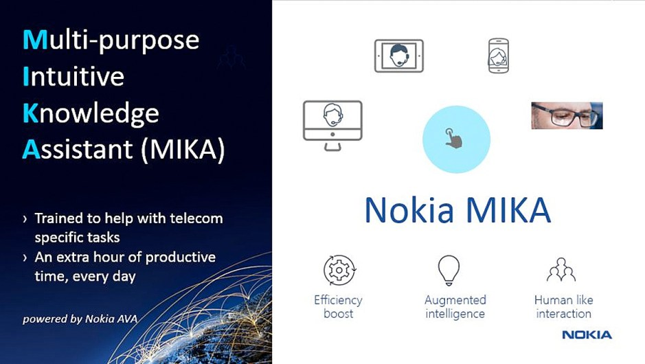 MIKA pour «Multi-purpose Intuitive Knowledge Assistant».