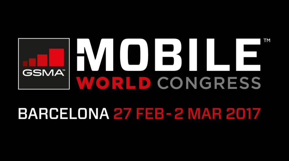 Le logo du MWC 2017 de Barcelone, la grand-messe du mobile et du monde numérique...