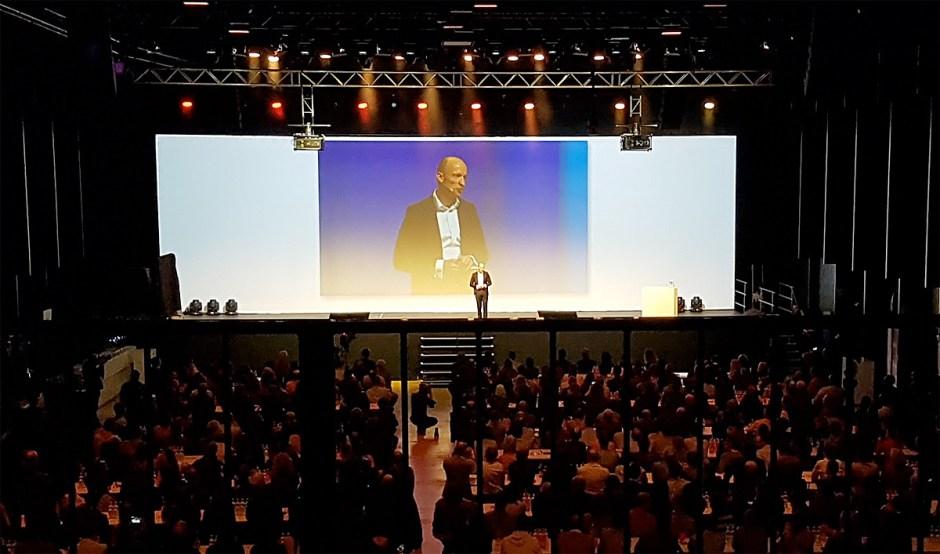 Le CEO de Sunrise Olaf Swantee.