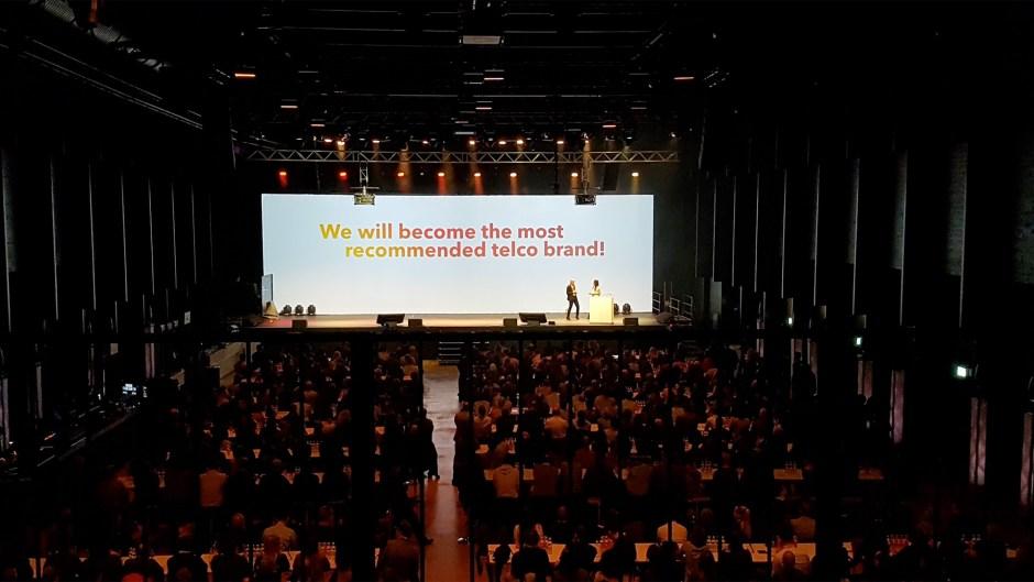 Sunrise fait son show à Zurich et retouche légèrement son identité visuelle.