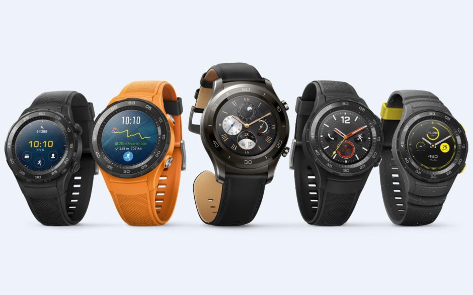 Huawei Watch 2 avec assistant Google : dès 349 francs suisses en avril.