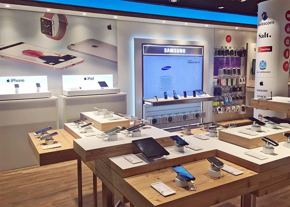 Mobilezone, plus gros revendeur indépendant de smartphones en Suisse, a tiré son épingle du jeu en 2016. Il vend surtout Apple, Samsung et Huawei...