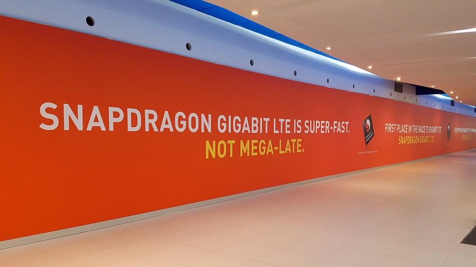 Avec Sony, Snapdragon lance l'ère du gigabit mobile...