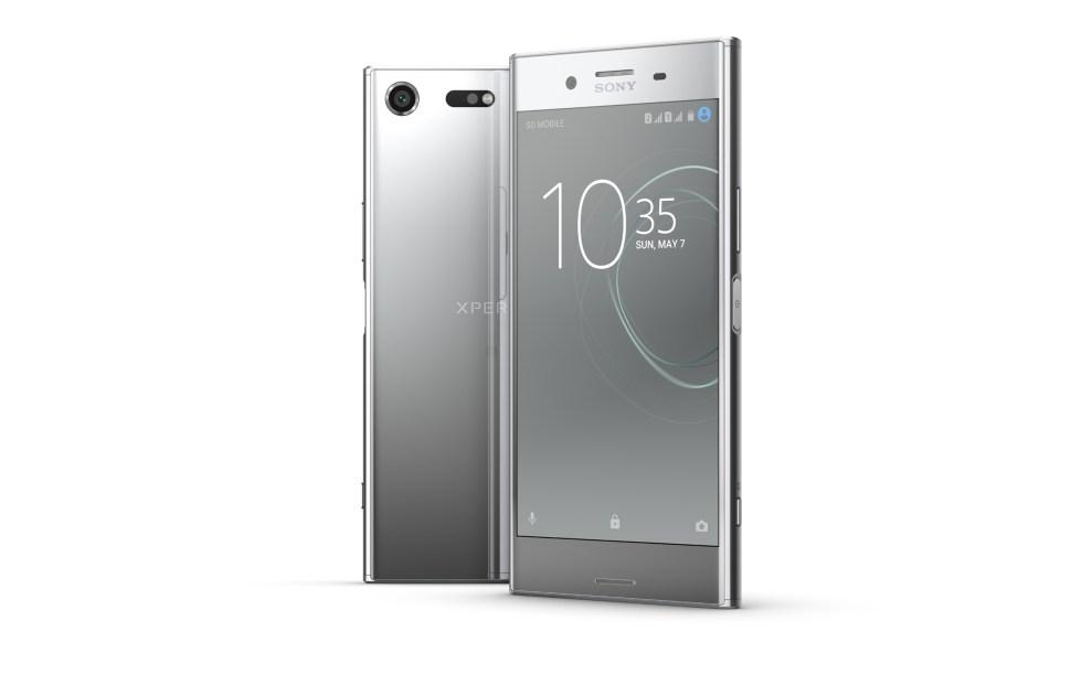 Le Sony Xperia XZ Premium.