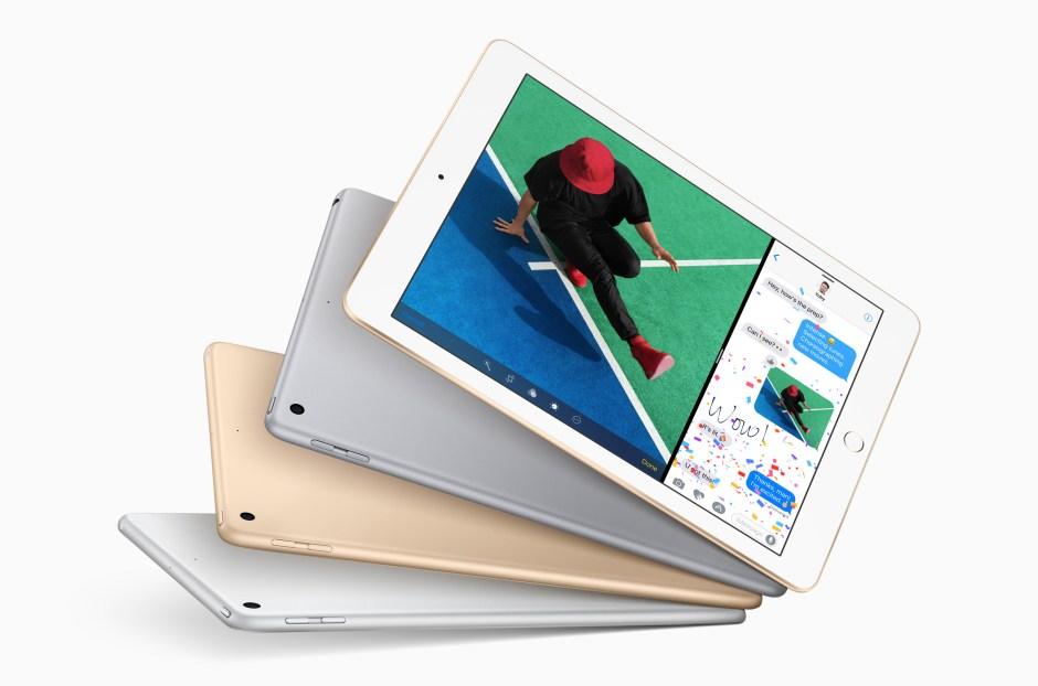 Le nouvel iPad 2017 de 9,7 pouces.