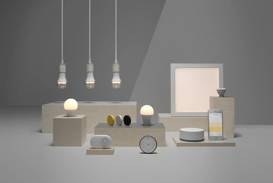 Eclairage connecté: une partie de la solution d'Ikea.