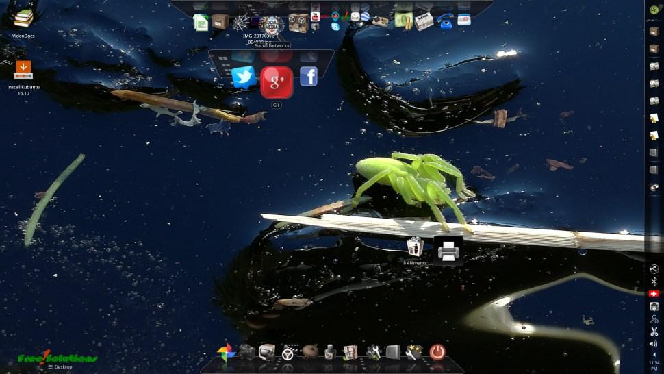 Green Spider est le nom de la première version de la clef USB Linux bootable de Free-Solutions.