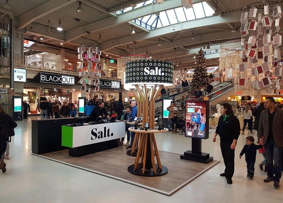 Salt se développe à Zurich sur la Bahnhostrasse.