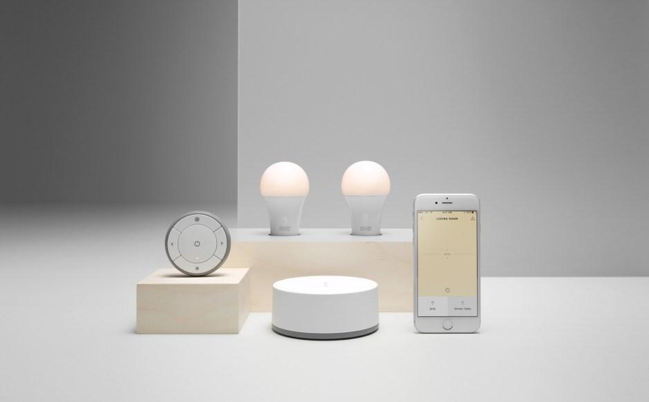 Tradfri: le test de la lumière connectée d'Ikea.