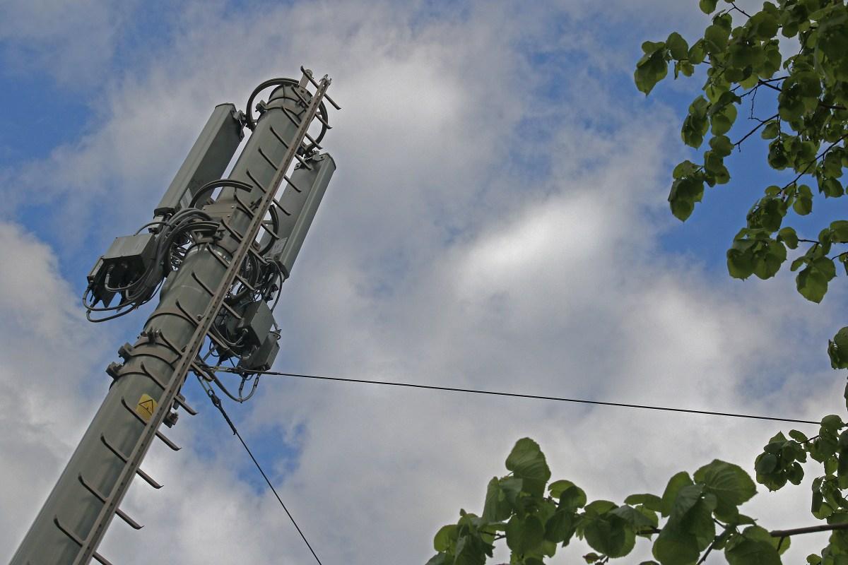 Antennes de téléphonie mobile.