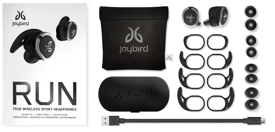 Jaybird Run: tous les accessoires fournis pour 229 francs.