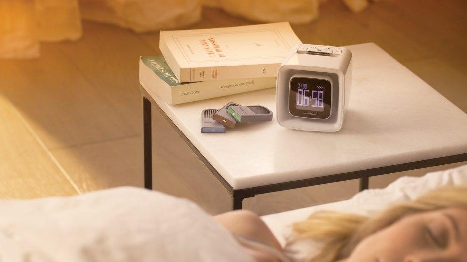 Sensorwake: le réveil qui vous mettra de bonne humeur en diffusant le parfum d'un café chaud...