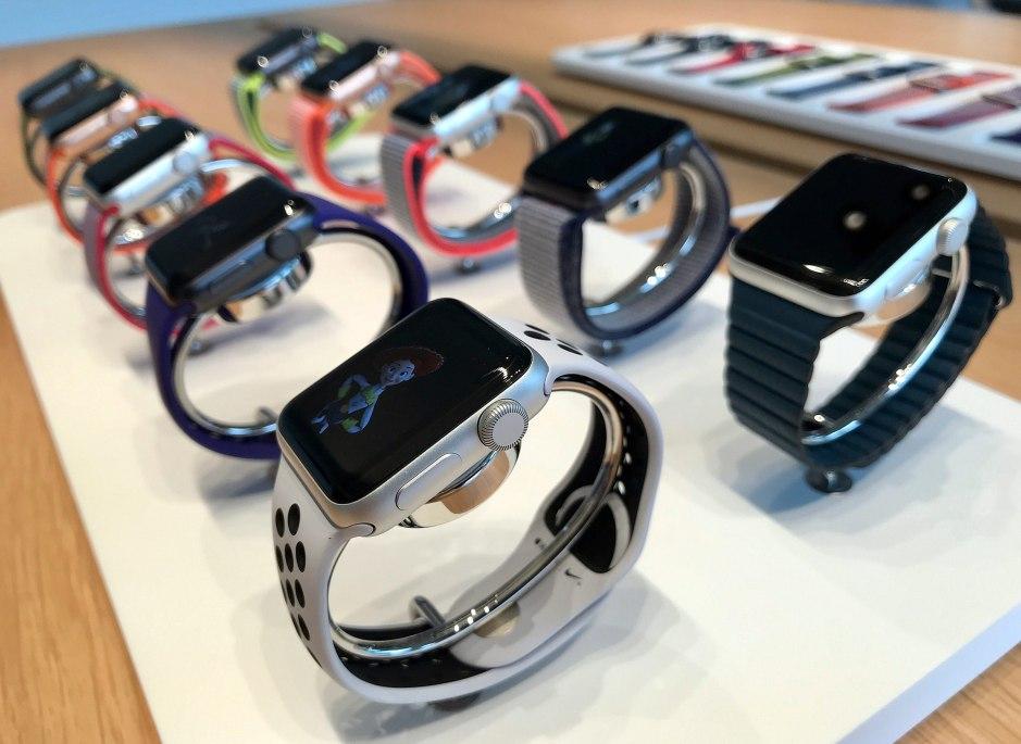 L'Apple Watch series 3: un cardio-fréquencemètre efficace.