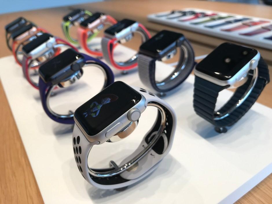 Les nouvelles Apple Watch series 3: encore plus rapides!