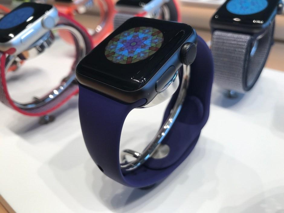 La nouvelle Apple Watch series 3.