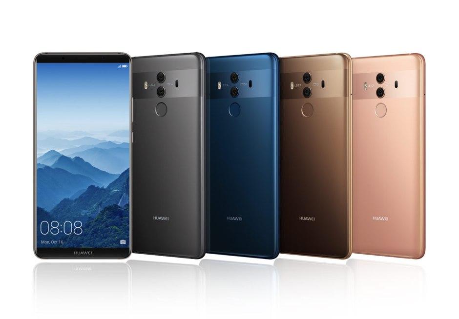 Le Huawei Mate 10 Pro débarquera le 20 novembre en Suisse.