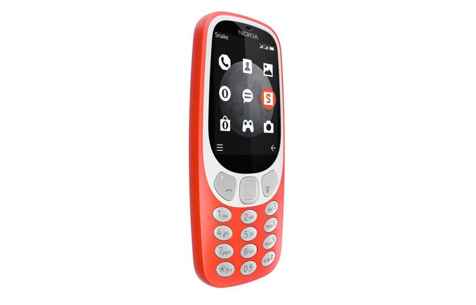 Le Nokia 3310 3G possède un écran couleur.