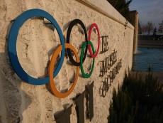 Musée olympique: Sony Xperia XZ Premium.