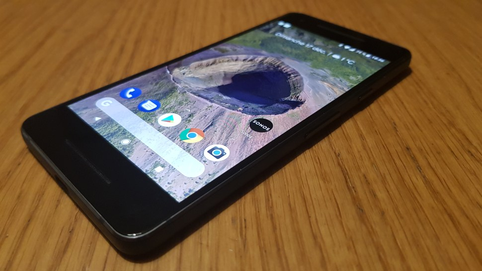 Test du Google Pixel 2. Sous Android 8.1, mais sans mini-jack...