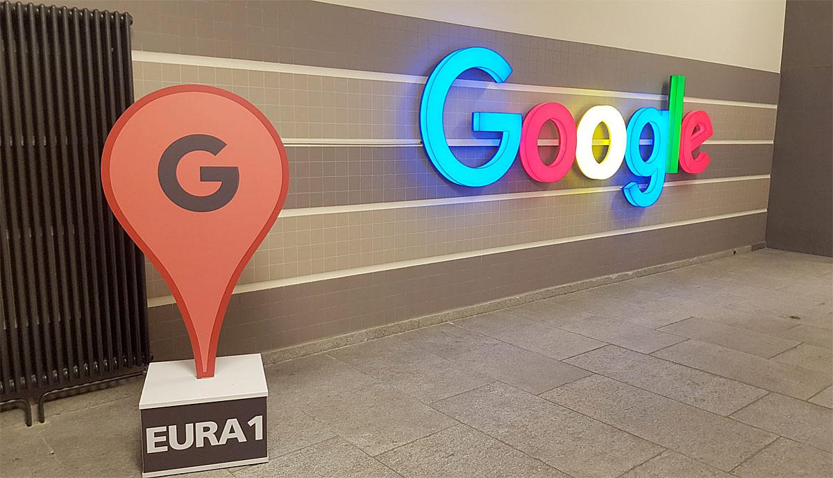 Google emploie quelque 2400 personnes à Zurich.