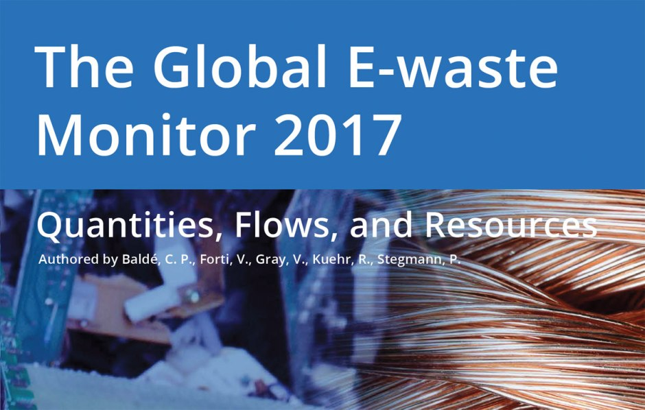 The Global E-waste Monitor 2017.