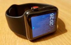 L'APple Watch Cellular 4G et son bouton rouge arrive chez Sunrise et Swisscom.