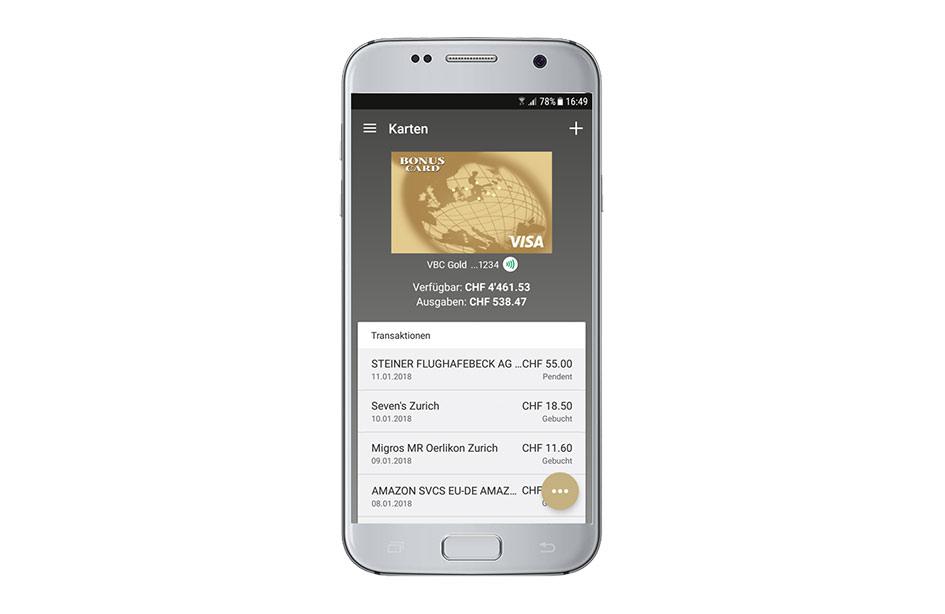 L'application de BonusCard pour Apple Pay, Samsung Pay ou Fitbit Pay.