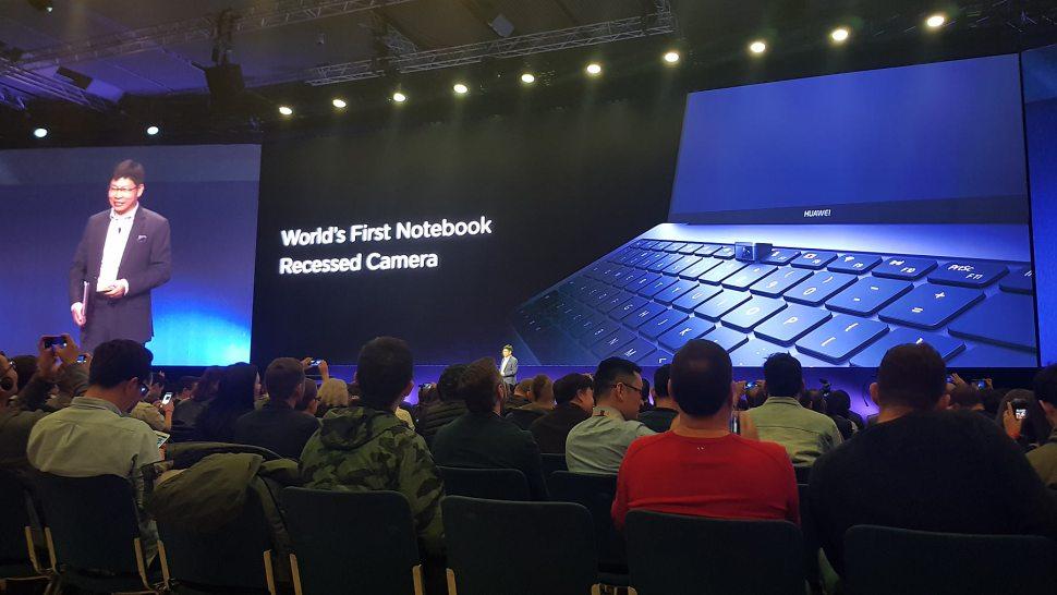Le Huawei MateBook X Pro.
