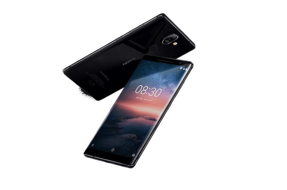 Le Nokia 8 Sirocco.