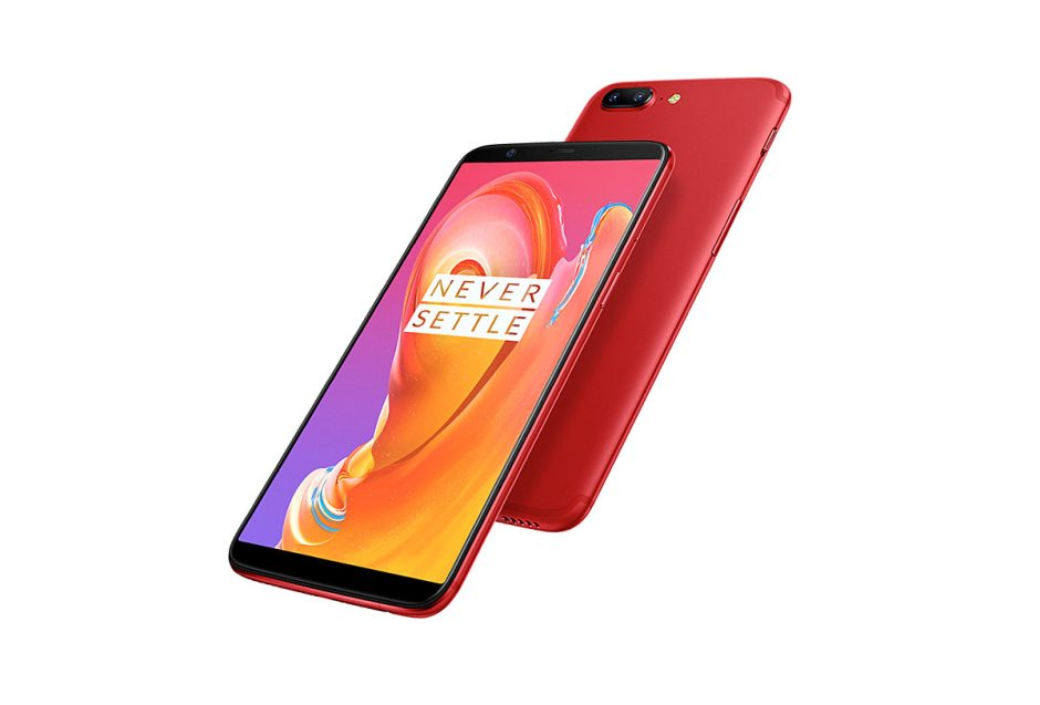 OnePlus 5 T Lava Red.