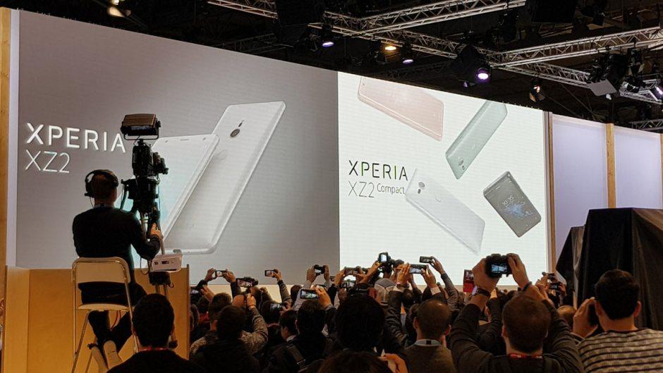 Sony a dévoilé ses derniers fleurons à Barcelone: les Xperia XZ2 et Xperia XZ2 Compact.