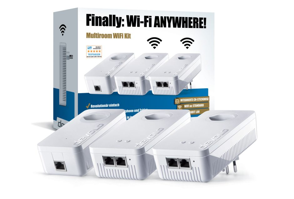 Devolo Multiroom WiFi Kit 1200+ Wi-Fi ac.