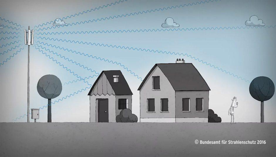 Des antennes, un rayonnement et des hommes...