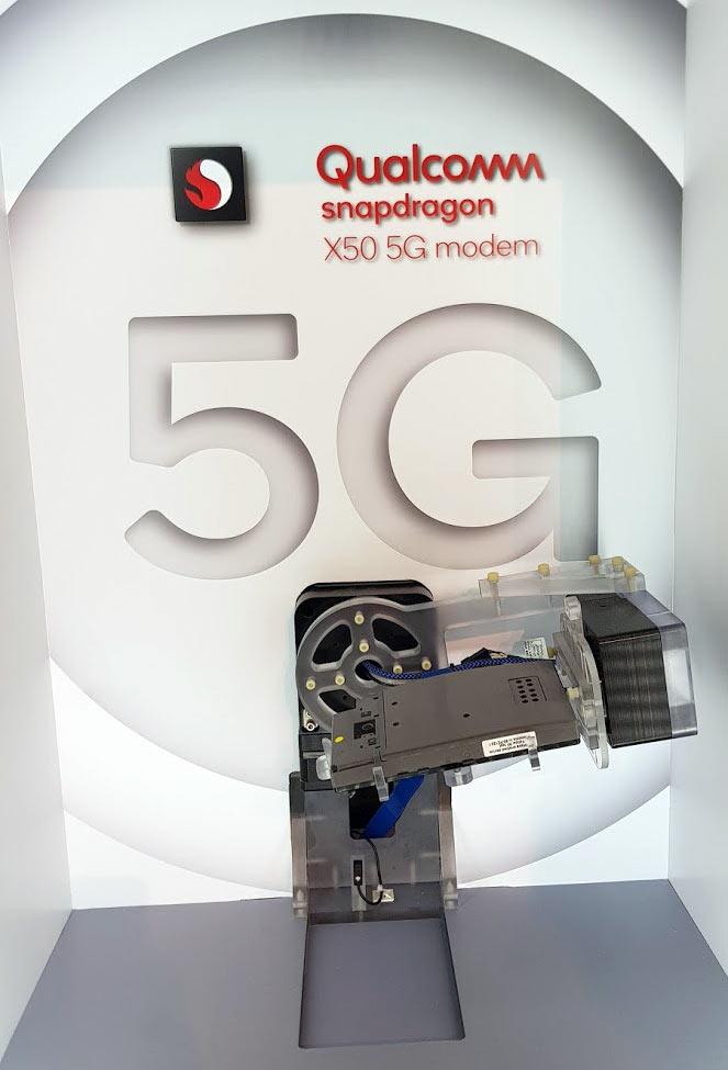 Le futur modem X50 5G de Qualcomm.