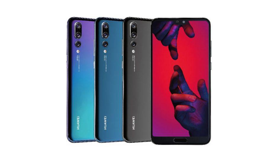 Le Huawei P20 débarque en quatre couleurs.