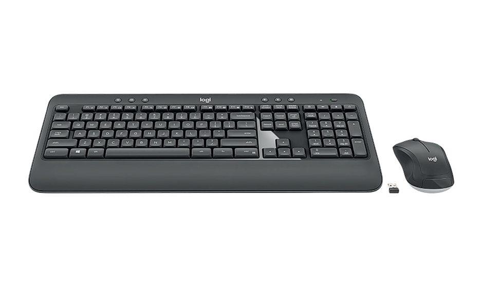 Test: l'ensemble souris et clavier Logitech MK540.