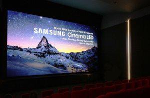 Samsung lance à Zurich le premier cinéma à écran LED 3D du monde!
