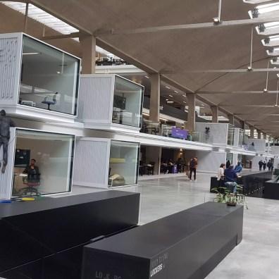 Quelque 3000 entrepreneurs sont réunis à Station F à Paris.