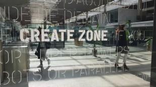 Station F: la zone de création.
