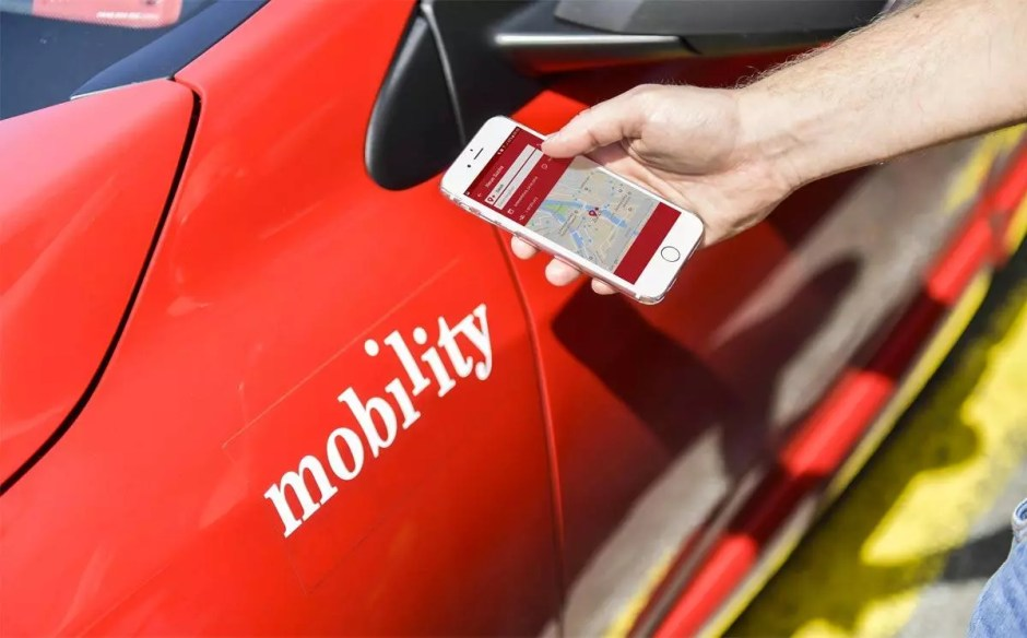 Mobility Carpool. Photo: obs/Mobility Carsharing Schweiz.