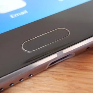 Huawei MediaPad M5: le redoutable capteur tactile.