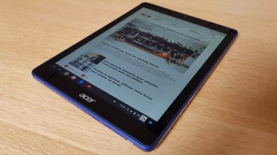 L'Acer Chromebook Tab sous Chrome OS.