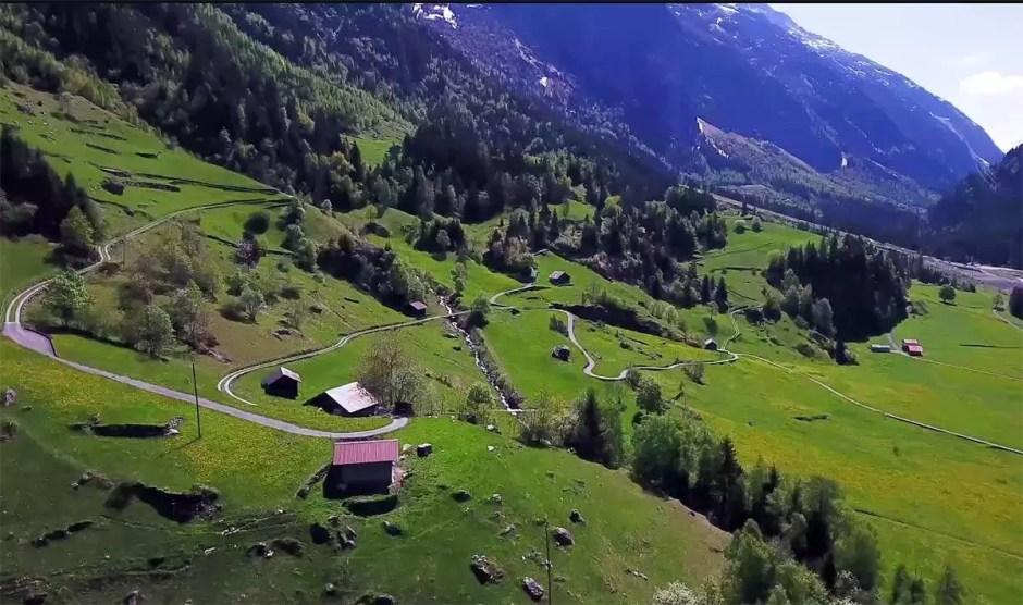Swisscom compte sur la 5G pour raccorder Guttannen aux autoroutes de l'information.
