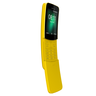 Nokia 8110 4G: optimisé sur KaiOS.