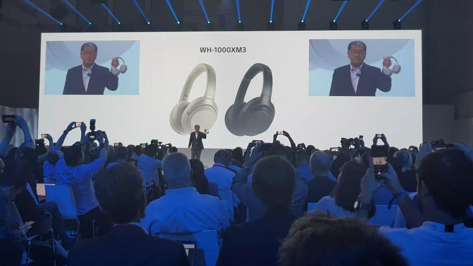 Le casque à réduction de bruit Sony WH-1000XM3.