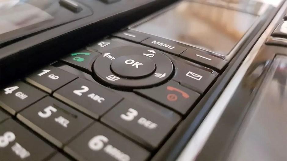 Telephone fixe DECT sans fil.
