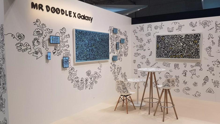 IFA 2018 de Berlin: Samsung très soucieux de décoration.