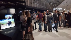 IFA 2018 de Berlin: le stand de Sony.