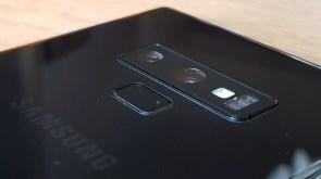 Le double capteur photo du Samsung Galaxy Note 9.