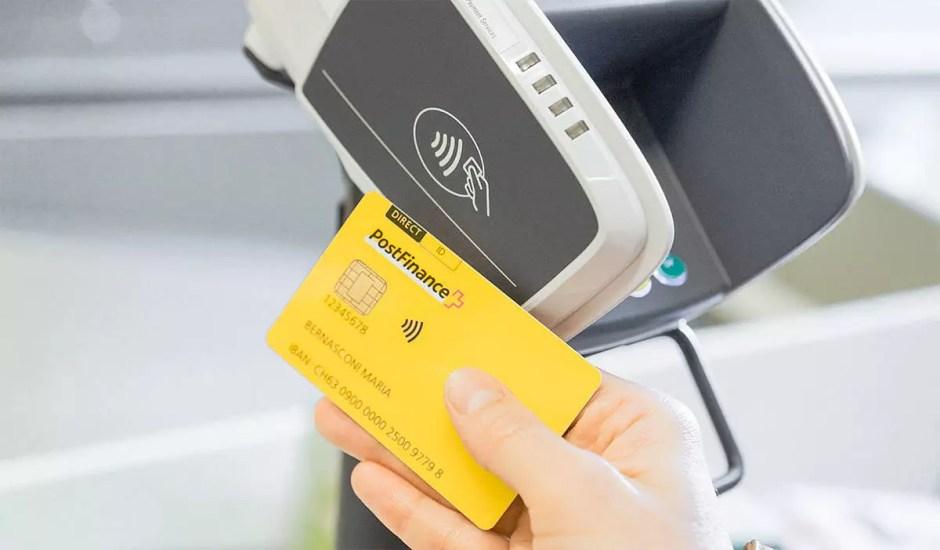 La PostFinance Card virtuelle n'est pas toujours aussi rapide et efficace que sa version physique.